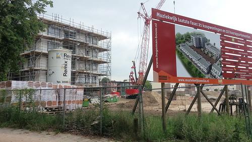 Nieuwbouw Trapjeswijk | by Kiek dan, Zwolle bouwt!