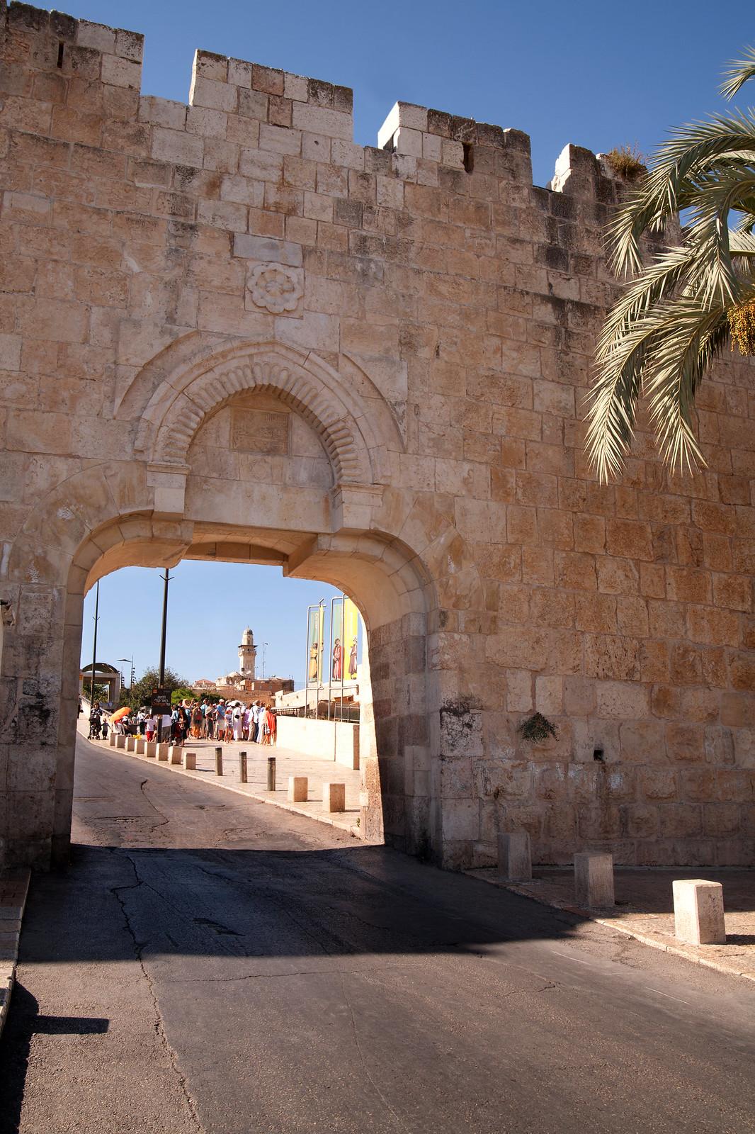 Jerusalem_OLd City_Dung Gate_ Sha'ar HaAshpot_1_Noam Chen_IM