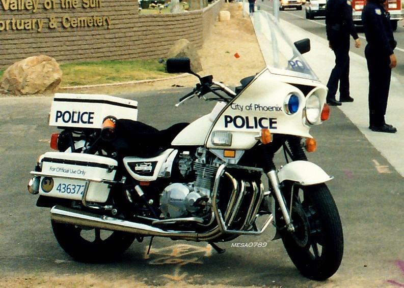 Phoenix AZ Police Kawasaki KZ1000 | Ofc  Kevin Weeks Funeral… | Flickr