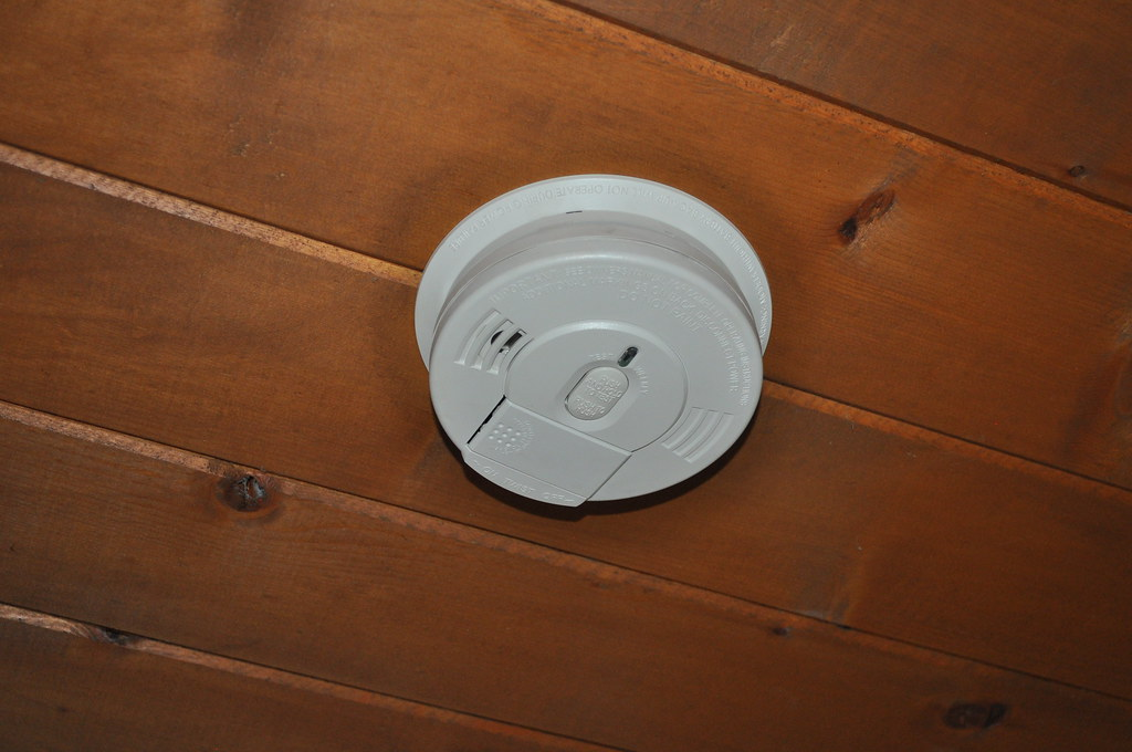 image of smoke detector