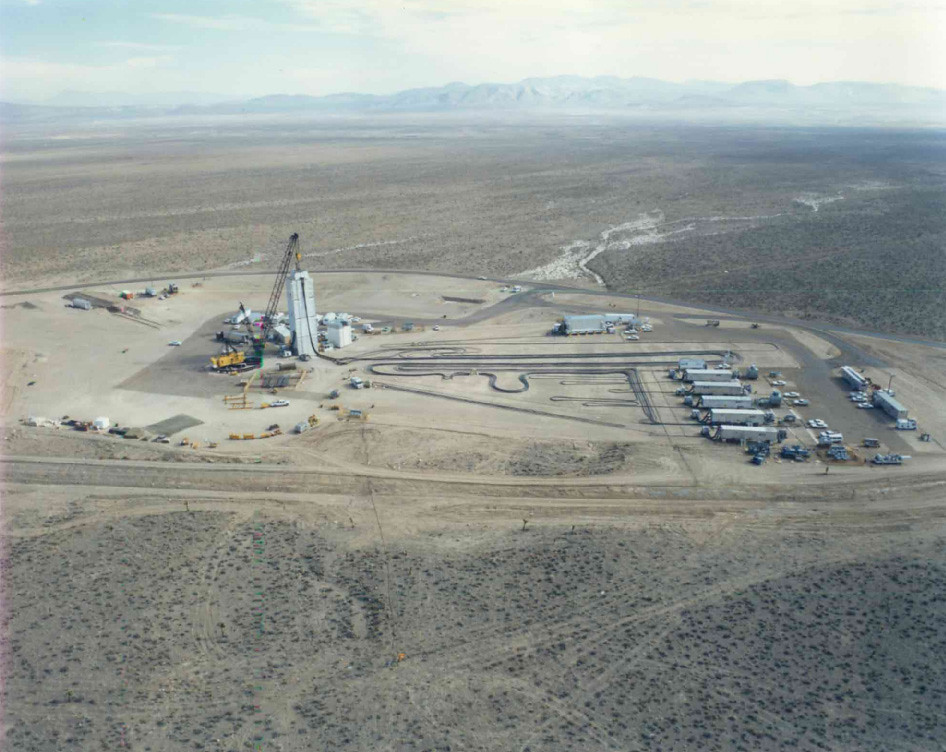 Nts Test Preparation Nevada Test Site This Is A Well Shot David Diffenderfer Flickr