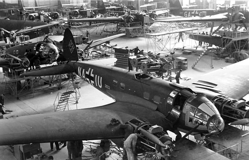 Heinkel He 111-P-4 production