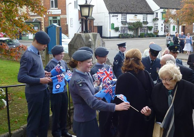 Cllr Maureen Dodds Freedom of Entry granted by Oakham Town Council to 504 Squadron Royal Auxiliary Air Force, RAF Wittering