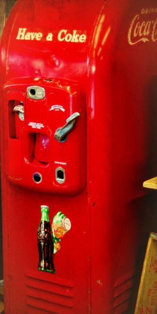 Antique CocaCola Machine-1940's