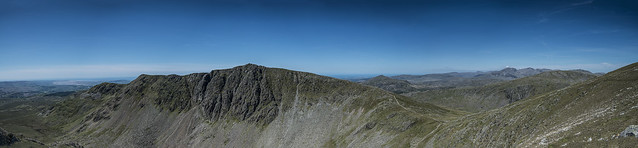 View of the Old Man of Coniston 06/2015
