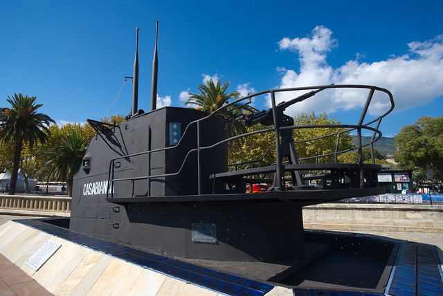 the conning tower of the submarine Casabianca Q183