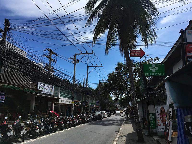 Koh Samui Chaweng Beach Road