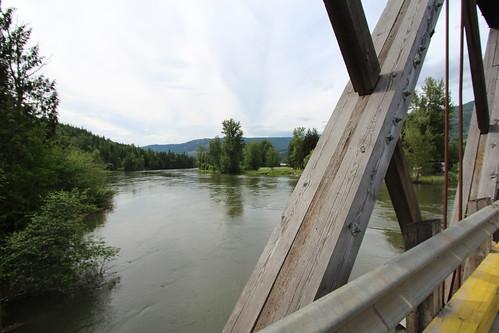 bridge canada river bc sushwap