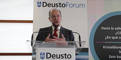 Conferencia DeustoForum del alcalde de Bilbao, Ibon Areso