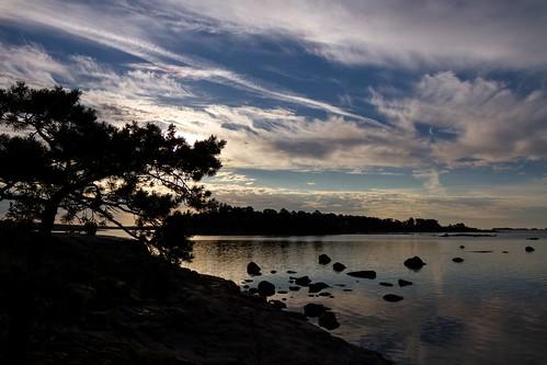 morning sea sun clouds finland helsinki july calm serenity 2014 kallahti canoneos7d adobelightroom4