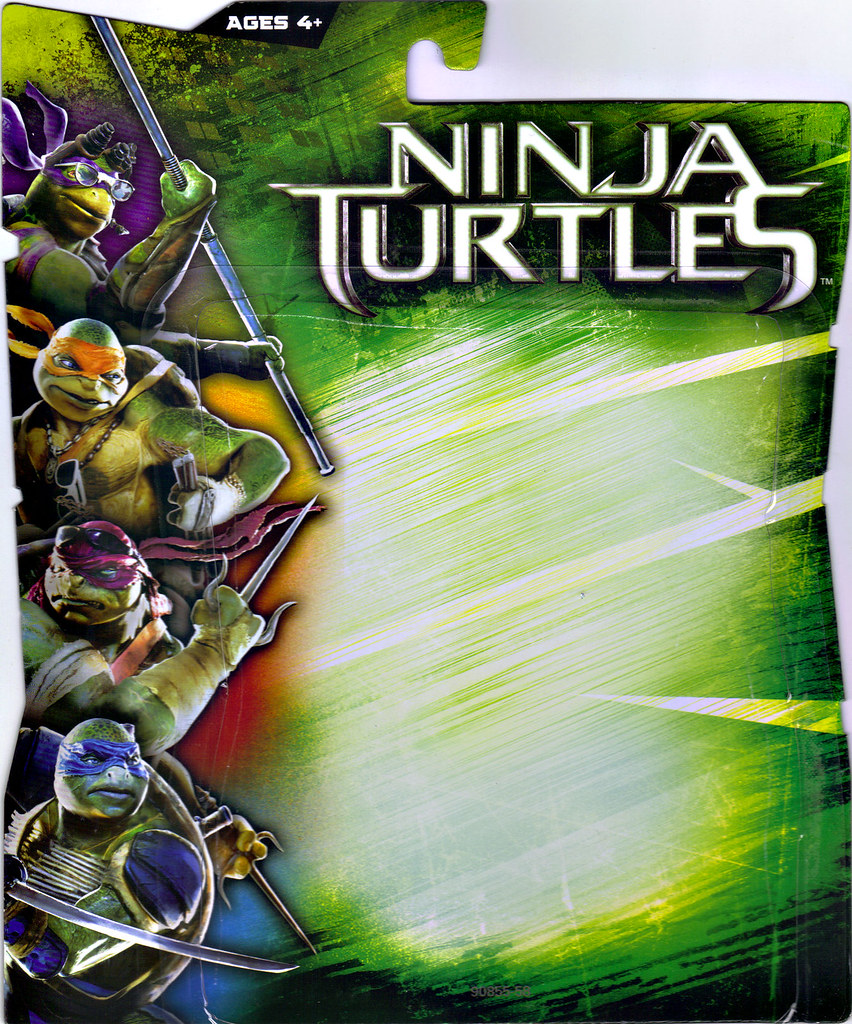 """NINJA TURTLES"" Movie :: FOOT SOLDIER ..card backer i (( 2014 )) by tOkKa"