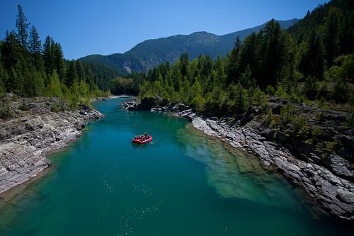 water river montana raft glaciernationalpark gnp flatheadriver