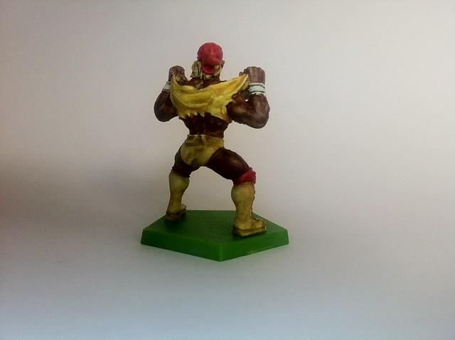 Hulk Hogan Back (Painting Commission for Ben Tan) (Kaosball The Patriot Miniature)