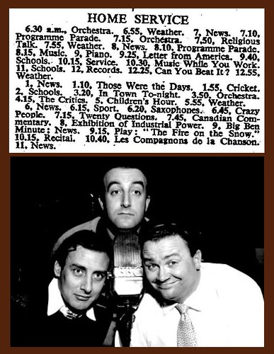 28th May 1951 - Crazy People (The Goon Show) | by Bradford Timeline