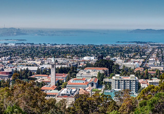 View of UC-Berkeley | by Mike Procario