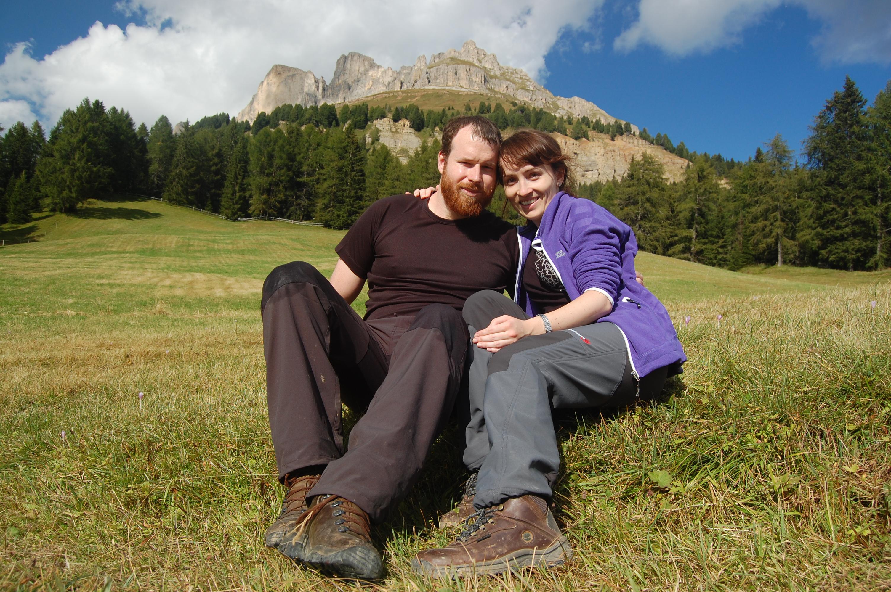 Spolu před pohořím Rotwand