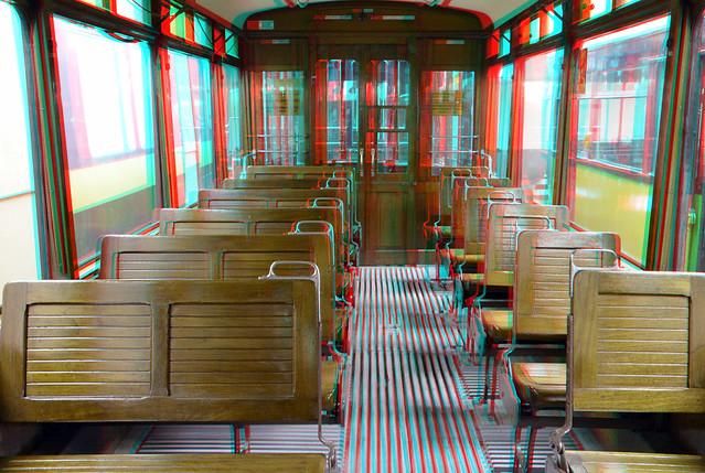 wagon Tram Museum Rotterdam 3D
