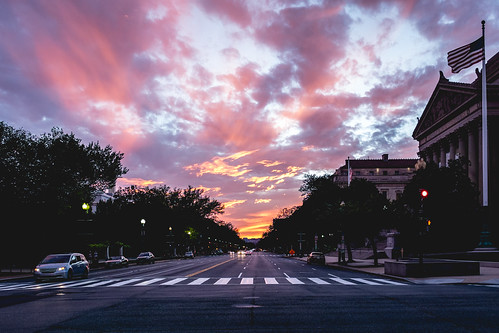pink blue sunset sky clouds dc washington districtofcolumbia fuji unitedstates flag archives fujifilm puesta x100s