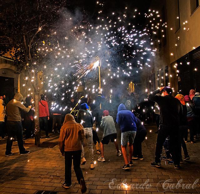 Correfocs Festa Major de Les Corts _MG_5333