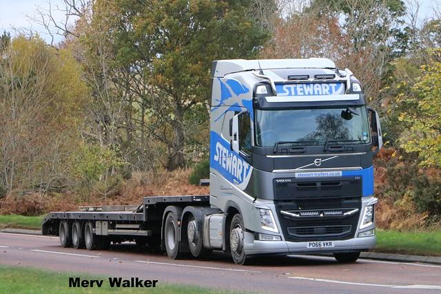 Stewart Volvo FH540 Globetrotter PO 66 VKR.
