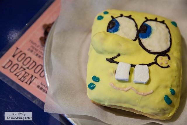 Spong Bob doughnut