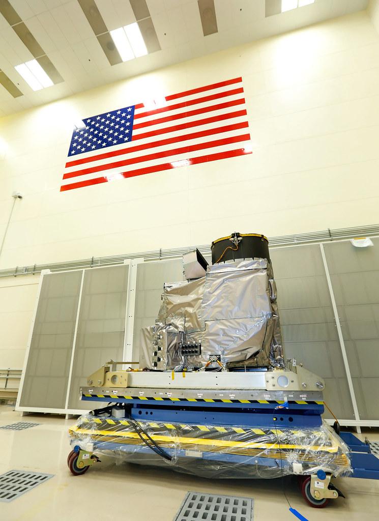 GOES-R ABI in Lockheed Martin Cleanroom