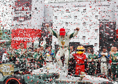 Mike Conway - Winner in Toronto 2014!