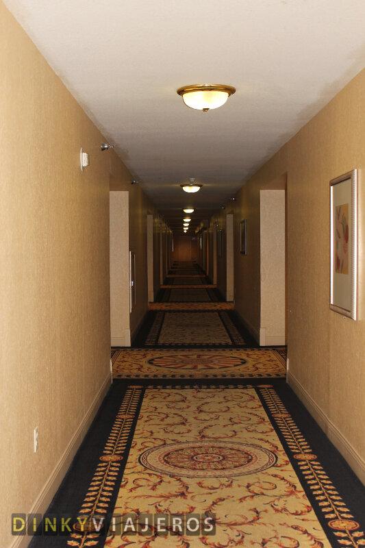Hotel Monte Carlo. Pasillo