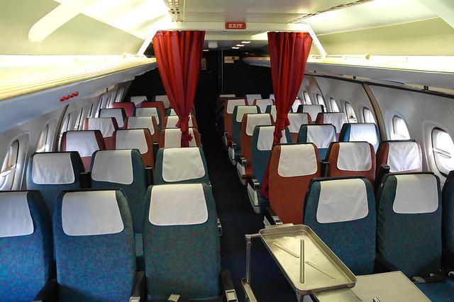 On board a classic BEA Trident 2E