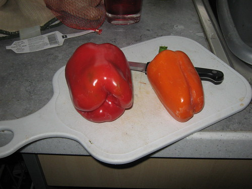 Home grown peppers | by Steve Gilham