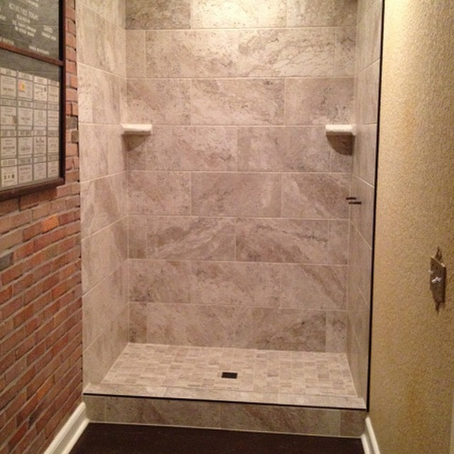 Finished The Lutz Florida Master Bath Stand Up Shower La