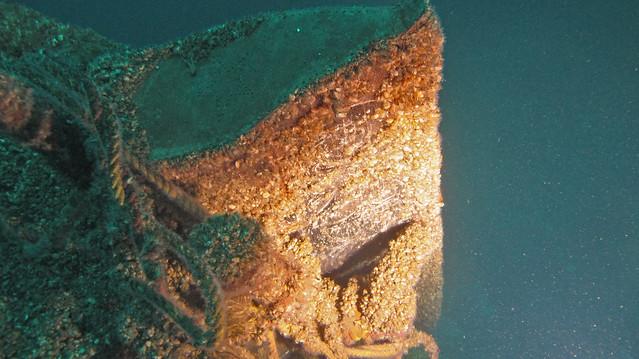 Shipwreck of the Vernon