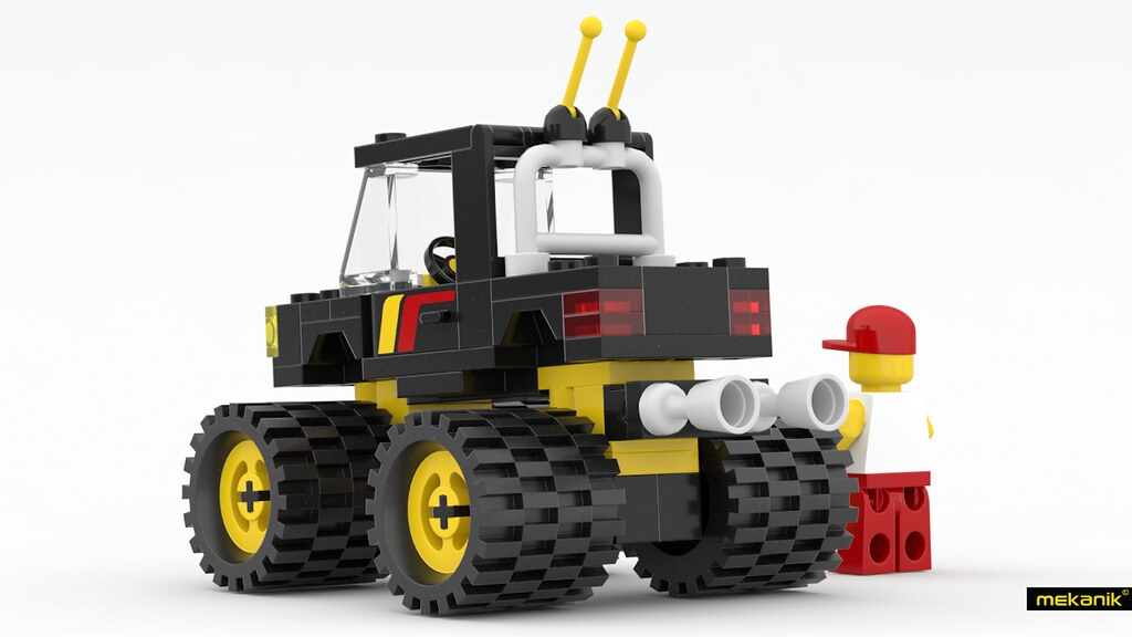 Lego 6675 Road And Trail 4 X 4 Back Lego 6675 Road And T Flickr