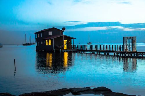 puertorico caborojo boqueron waterhouse boqueronbay sunset atardecer eveninglight beachhouse beachhouseboqueron caborojopr