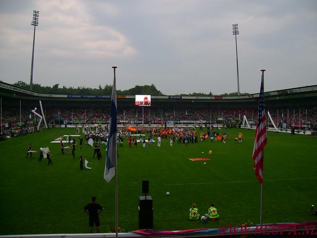 2007-07-16 Startbewijs op halen en vlaggen parade. (74)