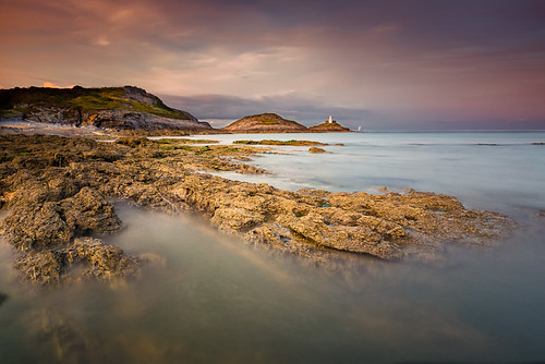 uk longexposure greatbritain sunset sea swansea southwales wales canon coast seaside unitedkingdom coastline f28 gowerpeninsula 6d 1635mm thegower richjjonesphotography richjjones