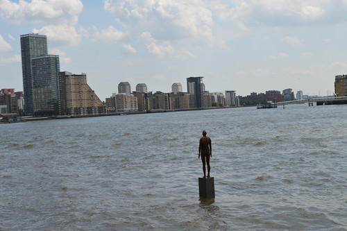 Gormley on Thames | by Matt From London