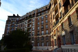 Paris, immeuble de logement social privé, 1913, Paris