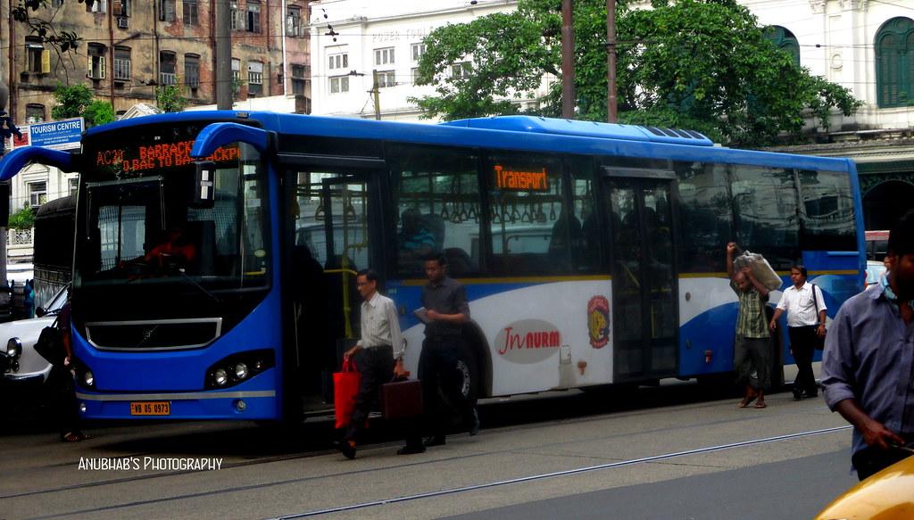 The New Volvo Buses Of Kolkata   JNNurm2 Scheme  AC Volvo 84
