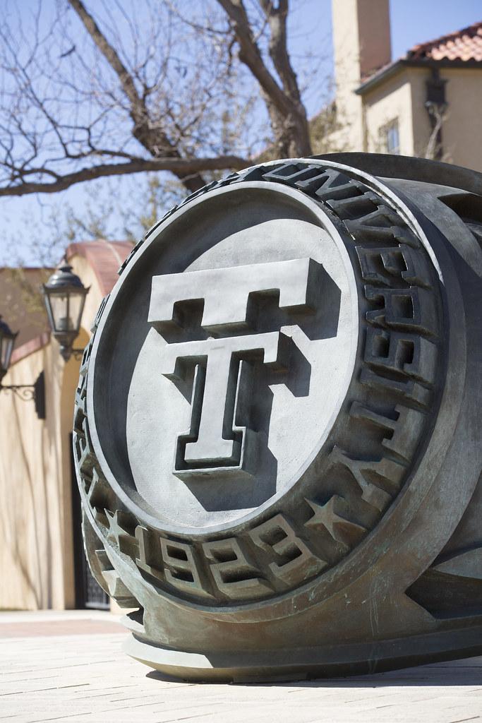 Texas Tech Ring at the McKenzie Merket Alumni Center