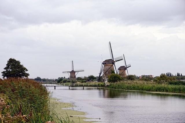 Kinderdijk, Rotterdam, Den Haag & Co.