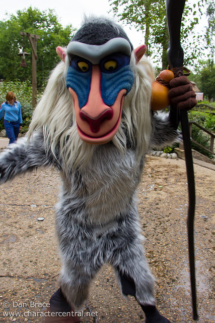 Character fun in Frontierland