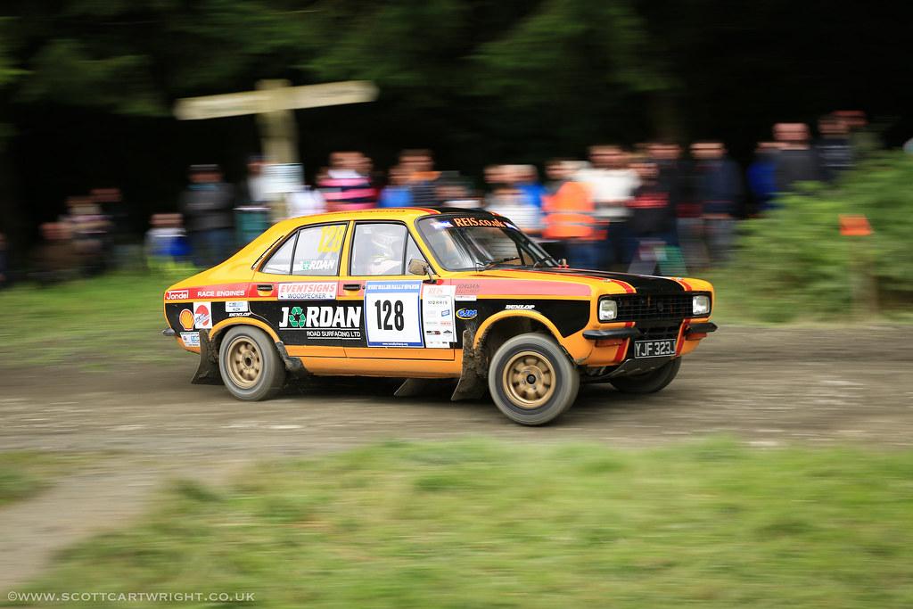 Hillman Avenger Rally Car Pan