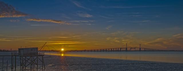 Pont de Saint Nazaire. Sun Catcher.