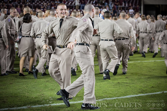 Texas A&M Corps of Cadets Gameday New Mexico State 2016