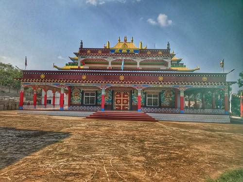 travel india 2016 karnataka touring riding dzongchenmonastery