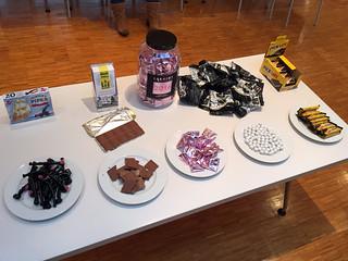 Das Sweetup-Buffet