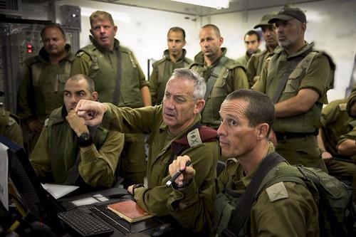 Lt. Gen. Benny Gantz Briefs IDF Commanders, From CreativeCommonsPhoto