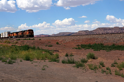 Train by Route 66, west of Grants, New Mexico | by RoadTripMemories
