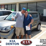 #HappyBirthday to Donald Baldwin from Andrew Gomes at Huffines KIA Denton!